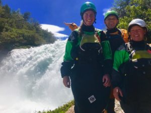 """""""We wanted a class III trip during the peak November flows. PKH customized a program right for our conservative skills."""" - Aneka and Jessica."""