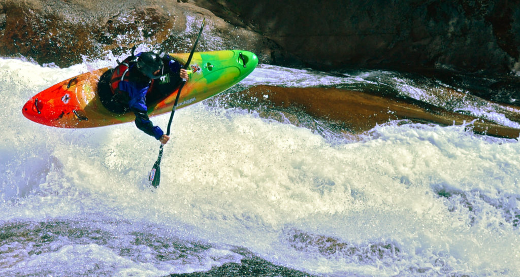 whitewater kayaking pucon chile best slide