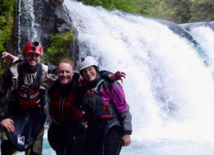Kayak Chile Upper Fuy Leonas Cascades