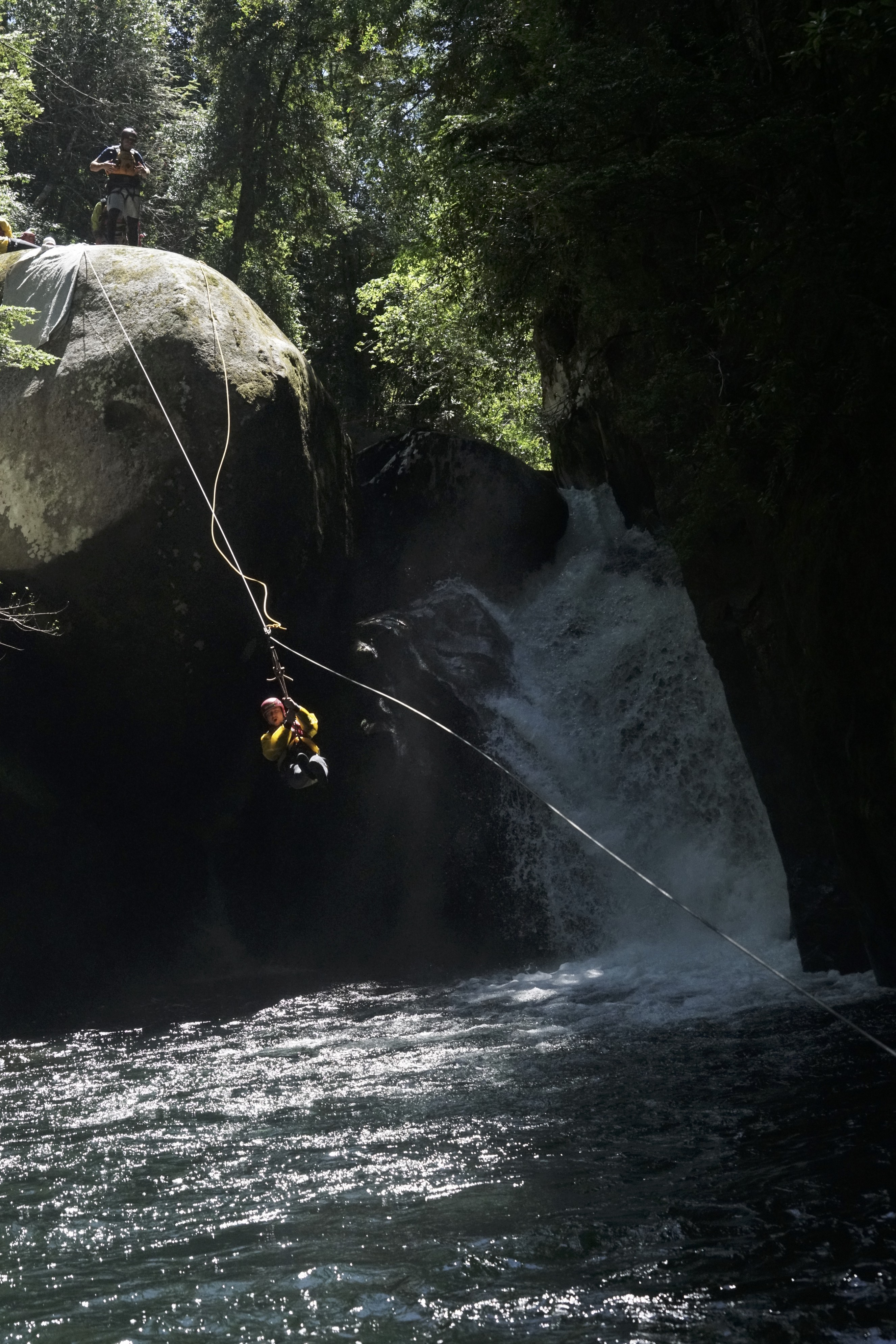 Canyoneering one of our most cherished waterfall runs.